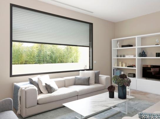 installer des volets roulants traditionnels domoteus. Black Bedroom Furniture Sets. Home Design Ideas